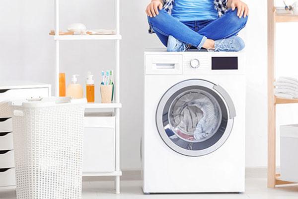 لرزش ماشین لباسشویی در هنگام عملکرد در سامانه خدمت نت
