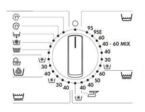 دستور راهنمای ماشین لباسشویی AEG
