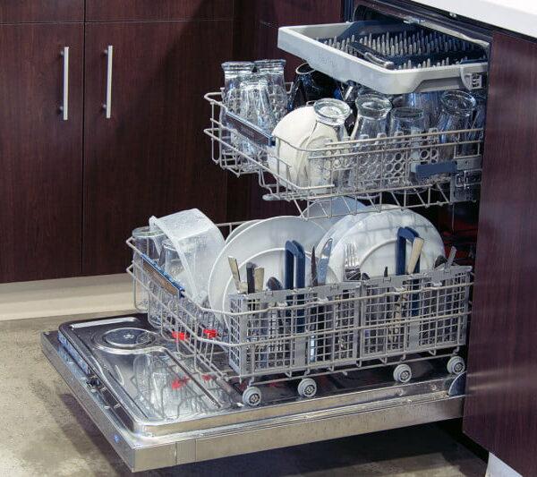 لوله کشی ماشین ظرفشویی