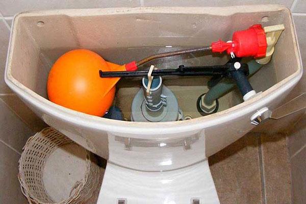 چگونه توالت فرنگی را تعمیر کنیم؟
